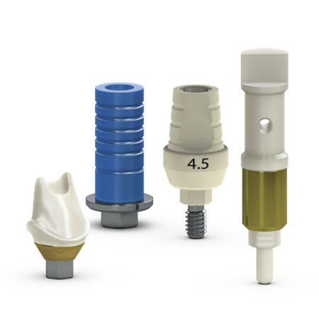 CAD/CAM abutments